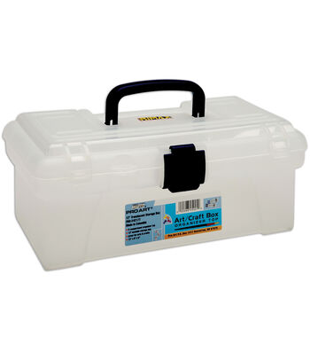 Pro Art Translucent Top Organizer Art Box
