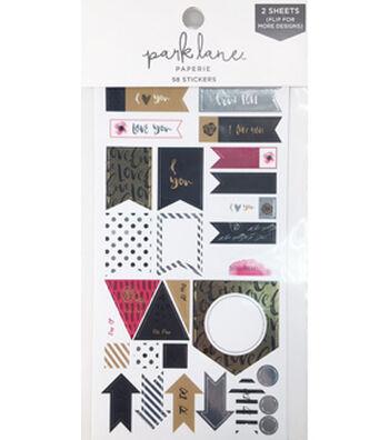 Park Lane 58 pk Sticker Pack-Love