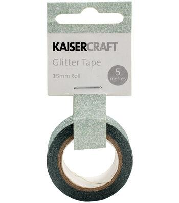 Kaisercraft 0.5''x16.5' Glitter Tape-Mint