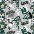Michigan State University Spartans Cotton Fabric-Collegiate Mascot