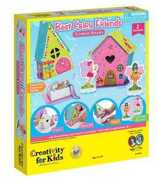 Creativity for Kids Best Fairy Friends Trinket Box Kit