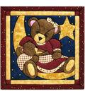 Momma&Baby Bear Quilt Magic Kit-12\u0022X12\u0022