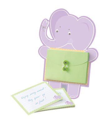 Card Activity Kit -Elephant Baby Advice