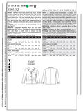 Mccall Pattern V8692 Aa (6-8-10-Vogue Pattern