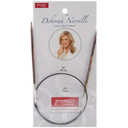 "Deborah Norville Fixed Circular Needles 24"" Size 5/3.75mm, , hi-res"