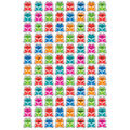 Happy Hoppers superShapes Stickers 800 Per Pack, 6 Packs