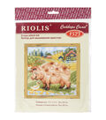 Riolis The Farm Piglet Counted Cross Stitch Kit