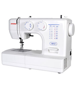 Janome 5812 Refurbished Easy-to-use Sewing Machine