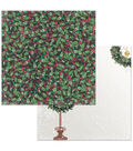 Christmas In The Village Double-Sided Cardstock 12\u0022X12\u0022-Holly