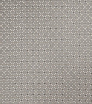 "Jaclyn Smith Upholstery Fabric 54""-Forward Rot/ Dove Gray"