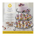 Wilton 3-Tier Customizable Iron Treat Stand, 13-Inch