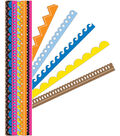 K&Company Adhesive Paper Borders-Sheer Simplicity Primary