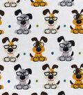 Snuggle Flannel Fabric -Smart Pups