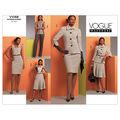 Mccall Pattern V1068 Aa (6-8-10-Vogue Pattern