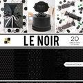 DCWV 20 Pack 12\u0027\u0027x12\u0027\u0027  Premium Stack Printed Cardstock-Le Noir