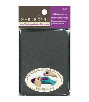 Dimensions Small Replacement Foam-