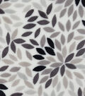 Sew Lush Fabric -Gray Floral Burst