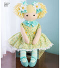 Simplicity Pattern 8402 23\u0027\u0027 Stuffed Doll with Clothes