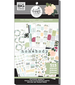 The Happy Planner Girl Sticker Value Pack-Homebody