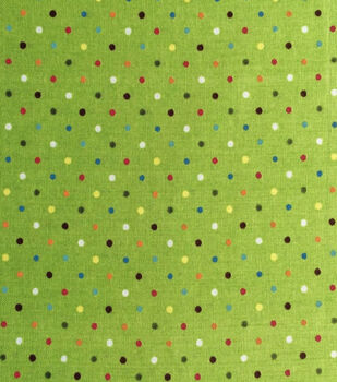 Keepsake Calico Cotton Fabric -Raindow Dots