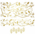 York Wallcoverings Wall Decals-Gold Branch