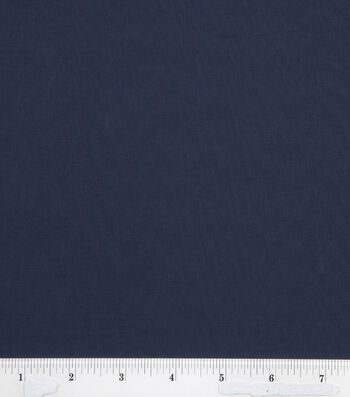 2 Yard Pre-Cut Symphony Broadcloth Fabric Remnant-Navy Blue