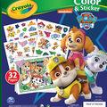 Crayola Color Sticker Book-Paw Patrol