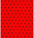 Holiday Showcase Halloween Cotton Fabric 43\u0022-Dot On Orange