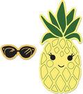 Sizzix Framelits Katelyn Lizardi Die & Stamp Set-Sunny Pineapples