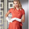 Simplicity Pattern 8249 Misses\u0027 Vintage Gown & Dress-Size H5 (6-14)