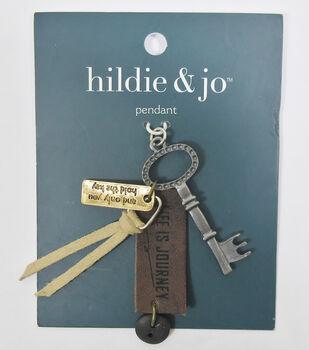 hildie & jo Metal Key Pendant