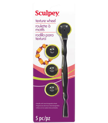 Studio By Sculpey Texture Wheel With Four Heads