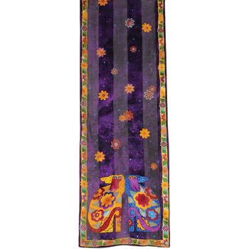 Laurel Burch Scarves-Kindred Souls