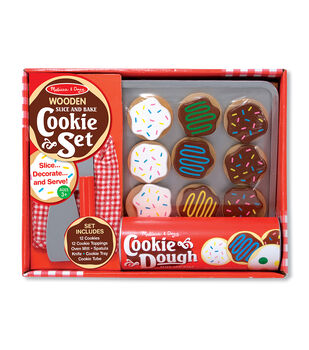 Melissa & Doug Wooden Food Set-Slice & Bake Cookies