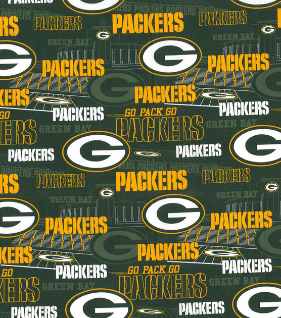 Green Bay Packers Nfl Stadium Cotton Fabric Joann