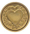 Manuscript Short Handle Classic Seal W/Wax Set-Heart