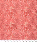Keepsake Calico Cotton Fabric -Tonal Floral Red
