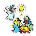 Carson Dellosa The Nativity Stickers, 186 Per Pack, 12 Packs