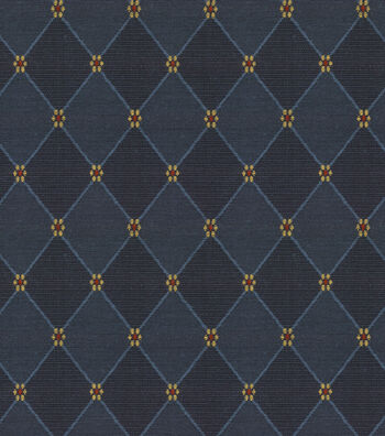 "Richloom Multi-Purpose Decor Fabric 54""-Weston Navy"