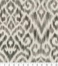 Home Decor 8\u0022x8\u0022 Fabric Swatch-Thompson Ikat Pewter