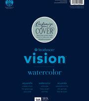 """Strathmore 9""""x12"""" Vision Watercolor Pad, , hi-res"""