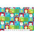 Christmas Cotton Fabric-Bright Holiday