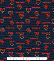 "Chicago Bears Cotton Fabric 58""-Mini Print, , hi-res"