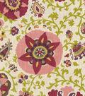 Upholstery Fabric 54\u0022-Fairfax Cherry Blossom