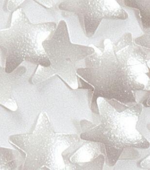 Wilton Edible Glitter-Silver Stars