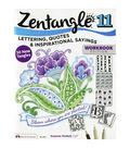 Adult Coloring Book-Design Originals Zentangle 11 Workbook Edition