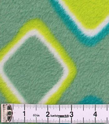 "Anti-Pill Fleece Fabric 59""-Spa Geometric"