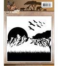 Find It Amy Design Wild Animals Embossing Folder-Wild Animals