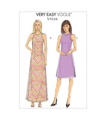 Vogue Patterns Misses Dress-V9184