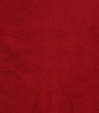 """Hudson 43 Upholstery Velvet Fabric 56""""-Red"""